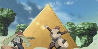 Третий Цучикаге и Пятый Казекаге против Второго Мизукаге