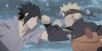 Наруто против Саске - последняя битва