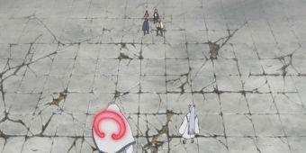 Наруто, Саске и Шикамару против Киншики и Момошики
