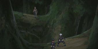 Какаши и Обито против Тайсеки