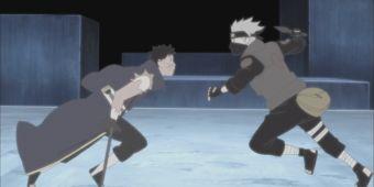 Какаши против Обито