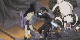 Хирузен против Орочимару