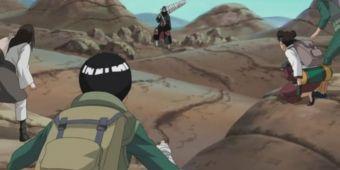 Команда Гая против Кисаме