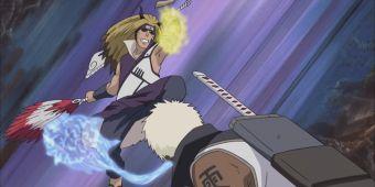 Даруи, Самуи и Ацуи против Кинкаку и Гинкаку
