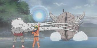 Наруто и Джирайя против Кандачи