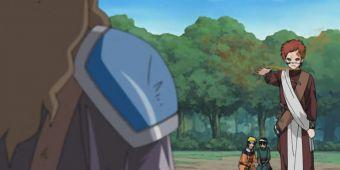 Гаара, Наруто и Ли против Суйко