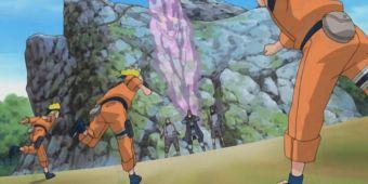 Наруто и Нацухи против Акахоши, Шисо и Ётаки