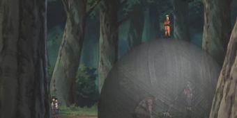 Наруто и Ли против Монджу