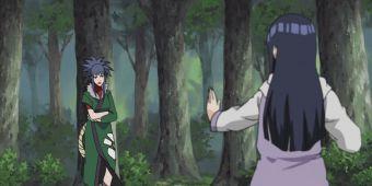 Какаши, Киба, Шино и Хината против Гурен