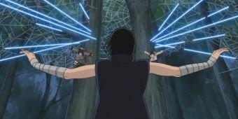 Киба, Шино и Хината против Суйки