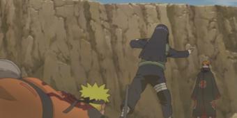 Наруто и Хината против Пейна - альтернативный бой