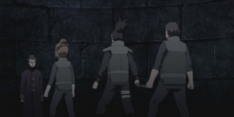 Шикамару, Ро и Соку против Генго