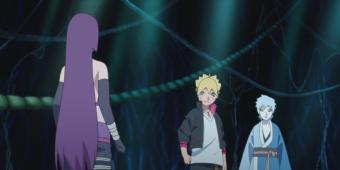 Боруто и Мицуки против Сумире