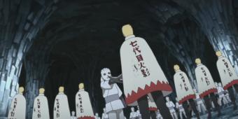 Наруто, Саске, Сакура и Сарада против Шина