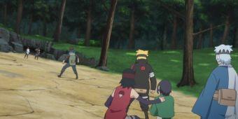 Команда Конохамару против Хидари и Ашимару