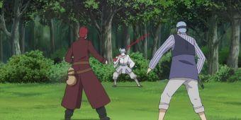 Гаара и Чоджуро против Урашики