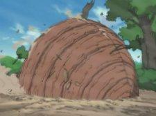 Блокирующая деревянная стена