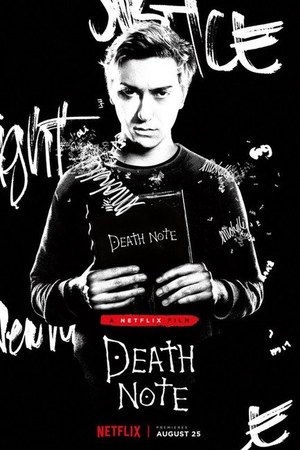 Новые детали Death Note от Netflix