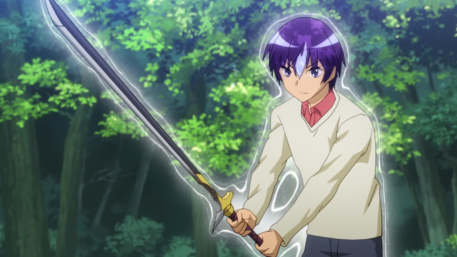 аниме мечи магия школа скачать
