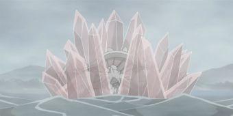 Кристальная восьмигранная стена
