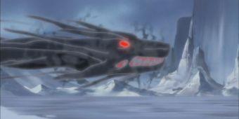 Снежная буря черного дракона
