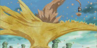 Щит из золотой пыли