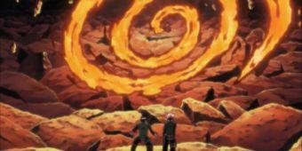 Взрыв танцующего пламени