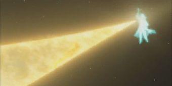 Взрыв возрождения золотого колеса