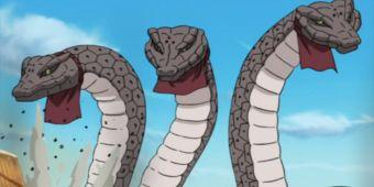 Призыв трёхглавой змеи